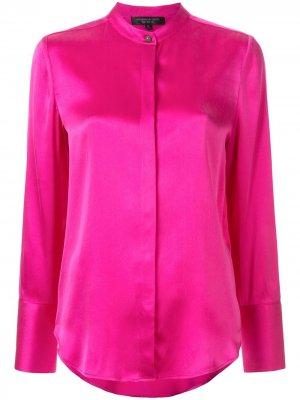 Рубашка с пуговицей Shanghai Tang. Цвет: розовый