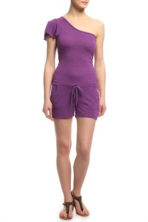 Комбинезон Rocawear. Цвет: фиолетовый