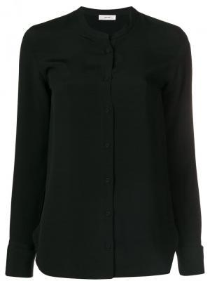 Henley collar blouse Mauro Grifoni. Цвет: черный