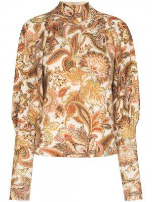 Кашемировый свитер Lucky Zimmermann. Цвет: нейтральные цвета