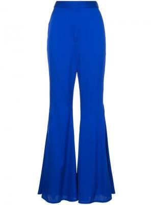 Классические брюки с высокой талией Ellery. Цвет: синий