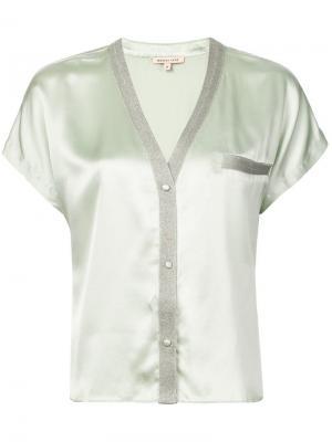 Пижамный топ Joanie Morgan Lane. Цвет: зеленый