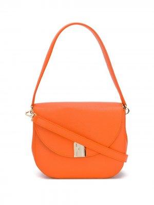 Сумка на плечо Sleek Furla. Цвет: оранжевый
