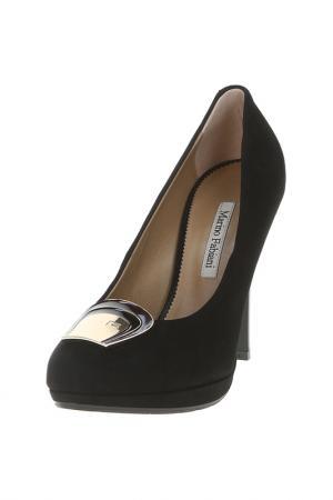 Туфли MARINO FABIANI. Цвет: черный