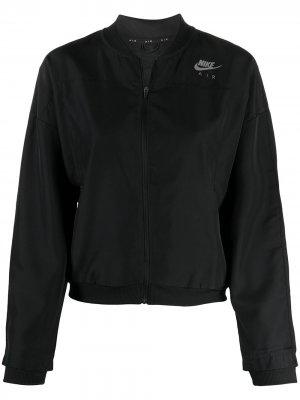Спортивная куртка Air Running Nike. Цвет: черный