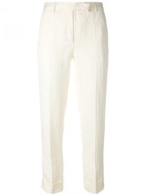Укороченные брюки с подвернутыми манжетами Philosophy Di Lorenzo Serafini. Цвет: нейтральные цвета