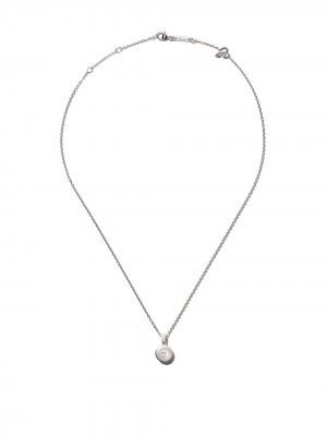18kt white gold Happy Diamonds Icons pendant necklace Chopard. Цвет: белый
