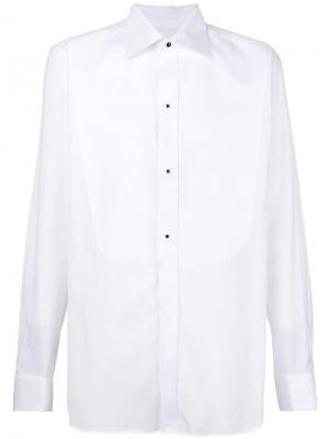 Classic tuxedo shirt Canali. Цвет: белый