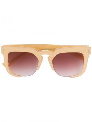 Солнцезащитные очки Temple Grey Ant. Цвет: нейтральные цвета