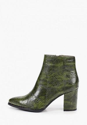 Ботильоны Ideal Shoes. Цвет: зеленый