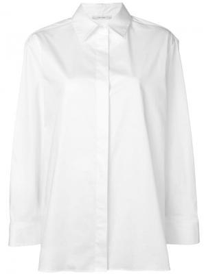 Классическая рубашка The Row. Цвет: белый