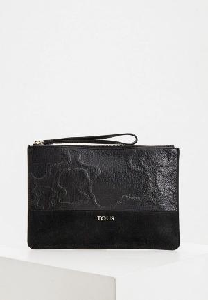 Клатч Tous. Цвет: черный