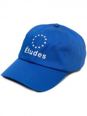 Бейсболка Booster с вышитым логотипом Etudes. Цвет: синий