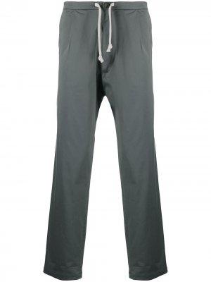 Прямые брюки Sing Société Anonyme. Цвет: серый