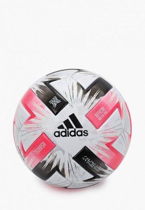 Мяч футбольный adidas. Цвет: разноцветный