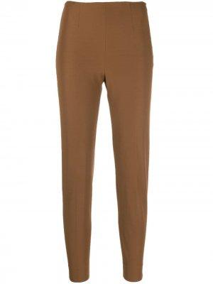 Укороченные брюки кроя слим Pt01. Цвет: коричневый