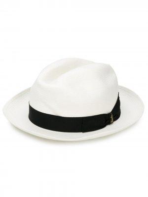 Шляпа Fellini Borsalino. Цвет: белый
