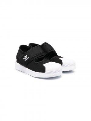 Сандалии Superstar 360 adidas Kids. Цвет: черный