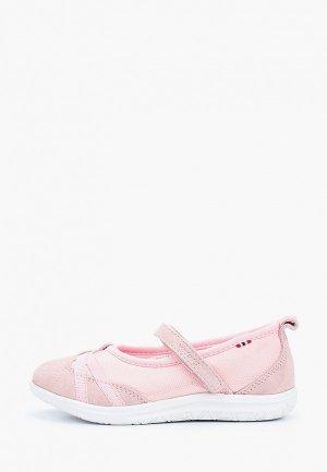 Туфли Viking. Цвет: розовый