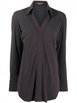 Блузка Atena стандартного кроя Le Petite Robe Di Chiara Boni. Цвет: коричневый