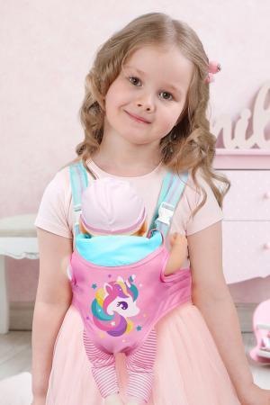 Рюкзак-переноска для куклы MARY POPPINS. Цвет: розовый