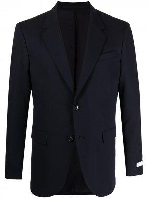 Однобортный пиджак Jarl Tiger of Sweden. Цвет: синий