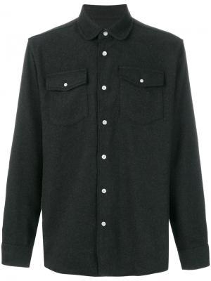 Рубашка Tom Western Soulland. Цвет: серый