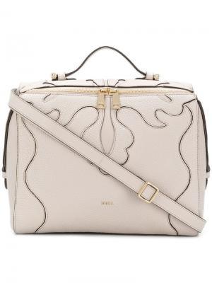Stitched panel tote bag Furla. Цвет: нейтральные цвета