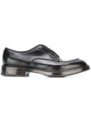 Классические туфли дерби Premiata. Цвет: черный
