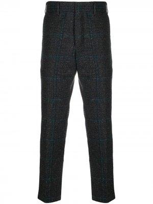 Укороченные брюки строгого кроя Pt01. Цвет: серый