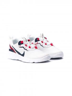 Кроссовки Element 55 Nike Kids. Цвет: белый