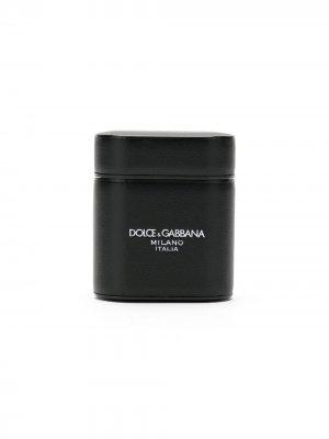 Logo ear pods case Dolce & Gabbana. Цвет: черный