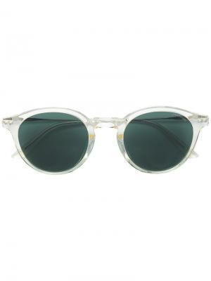 Round shaped sunglasses Calvin Klein 205W39nyc. Цвет: нейтральные цвета