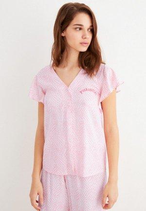 Пижама womensecret women'secret. Цвет: розовый