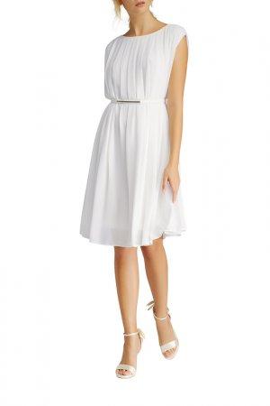 Платье повседневное Apart. Цвет: белый
