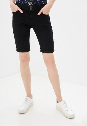 Шорты джинсовые Dorothy Perkins. Цвет: черный