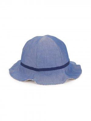 Джинсовая панама Familiar. Цвет: синий