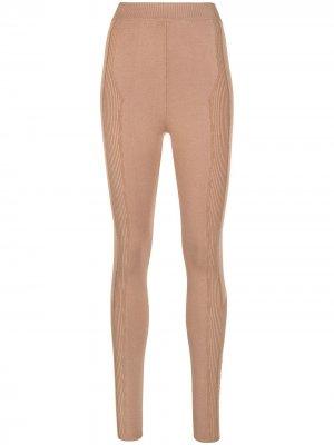 Легинсы Switchwear AZ FACTORY. Цвет: коричневый