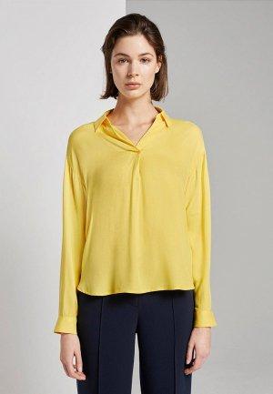 Блуза Tom Tailor. Цвет: желтый