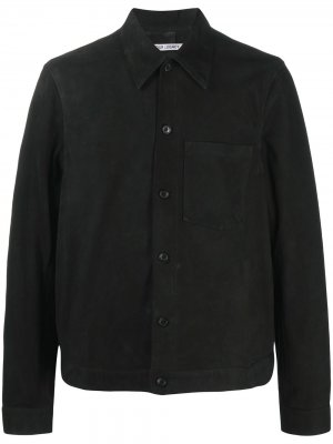 Куртка-рубашка Our Legacy. Цвет: черный