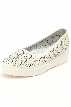 Туфли INDIGO KIDS. Цвет: белый
