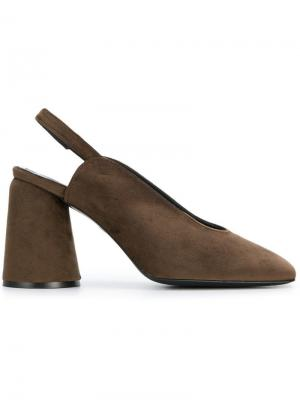Туфли-лодочки Karme Castañer. Цвет: коричневый