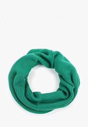 Снуд United Colors of Benetton. Цвет: зеленый