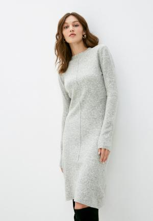 Платье Silvian Heach. Цвет: серый