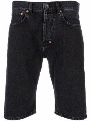 Джинсовые шорты Prps. Цвет: черный