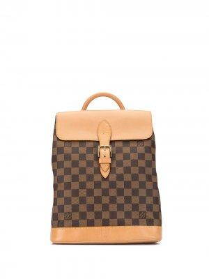 Рюкзак Soho 1996-го года pre-owned Louis Vuitton. Цвет: коричневый