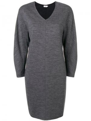 Платье прямого кроя Filippa-K. Цвет: серый