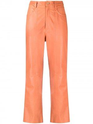 Укороченные брюки Forte. Цвет: оранжевый