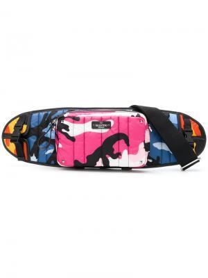 Чехол для скейтборда Camoushuffle Valentino. Цвет: разноцветный