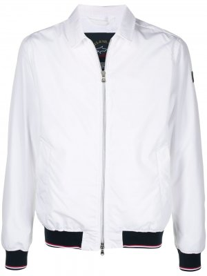 Куртка-бомбер Paul & Shark. Цвет: белый